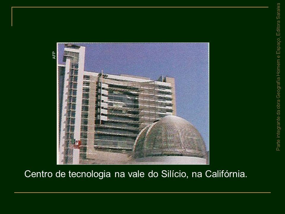 Centro de tecnologia na vale do Silício, na Califórnia.