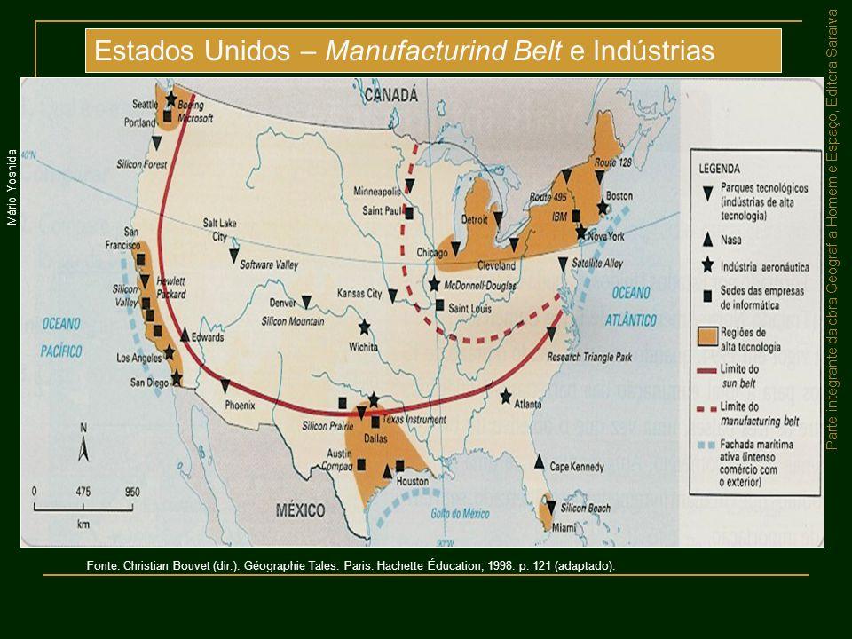 Estados Unidos – Manufacturind Belt e Indústrias