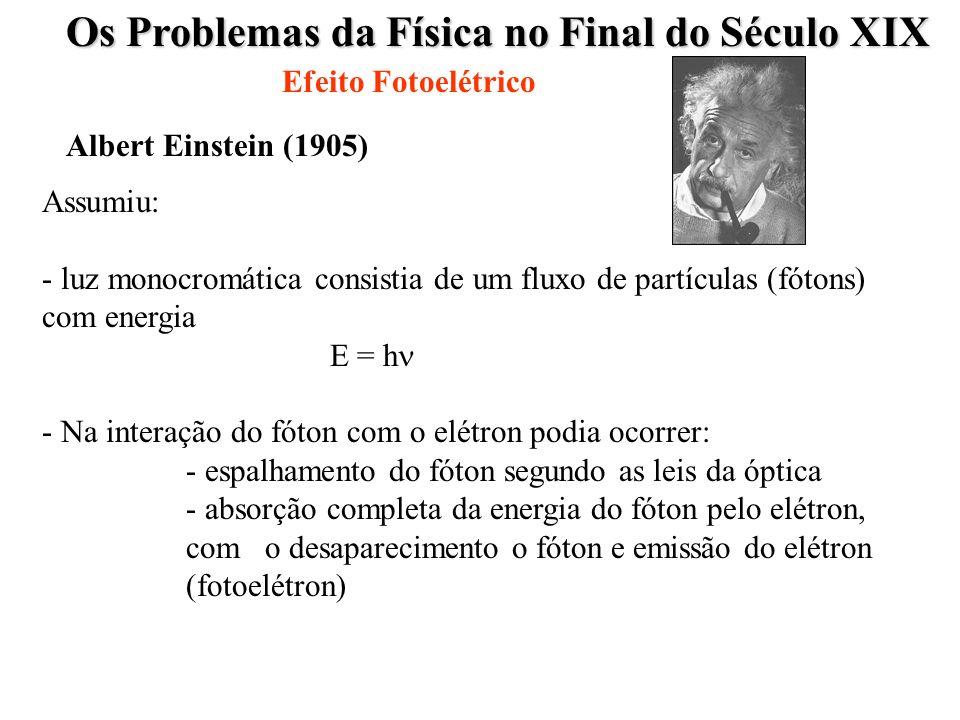 Os Problemas da Física no Final do Século XIX