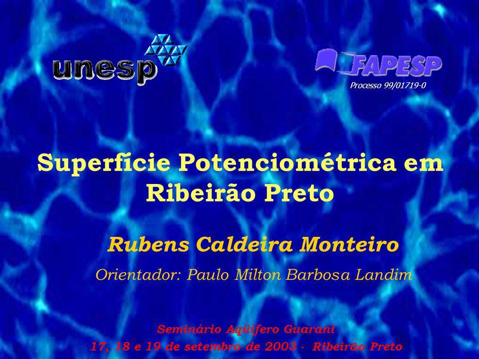 Superfície Potenciométrica em Ribeirão Preto