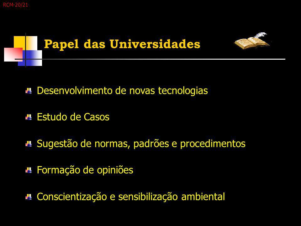 Papel das Universidades