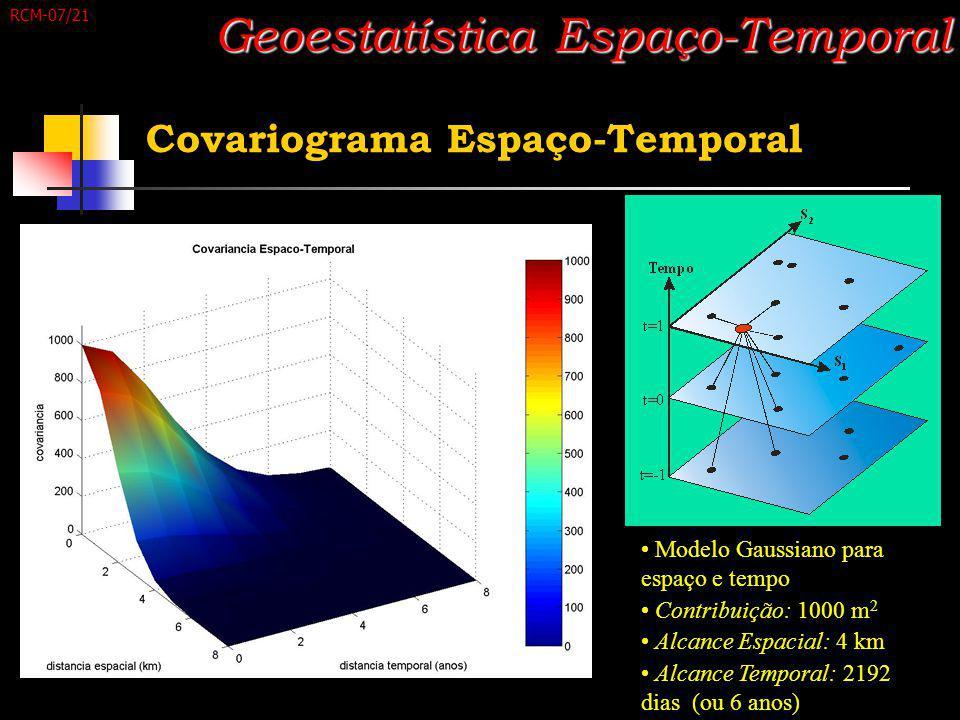 Geoestatística Espaço-Temporal