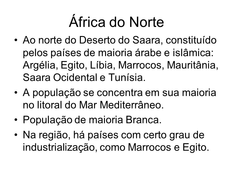 África do Norte