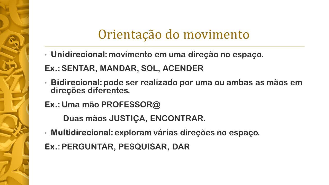 Orientação do movimento
