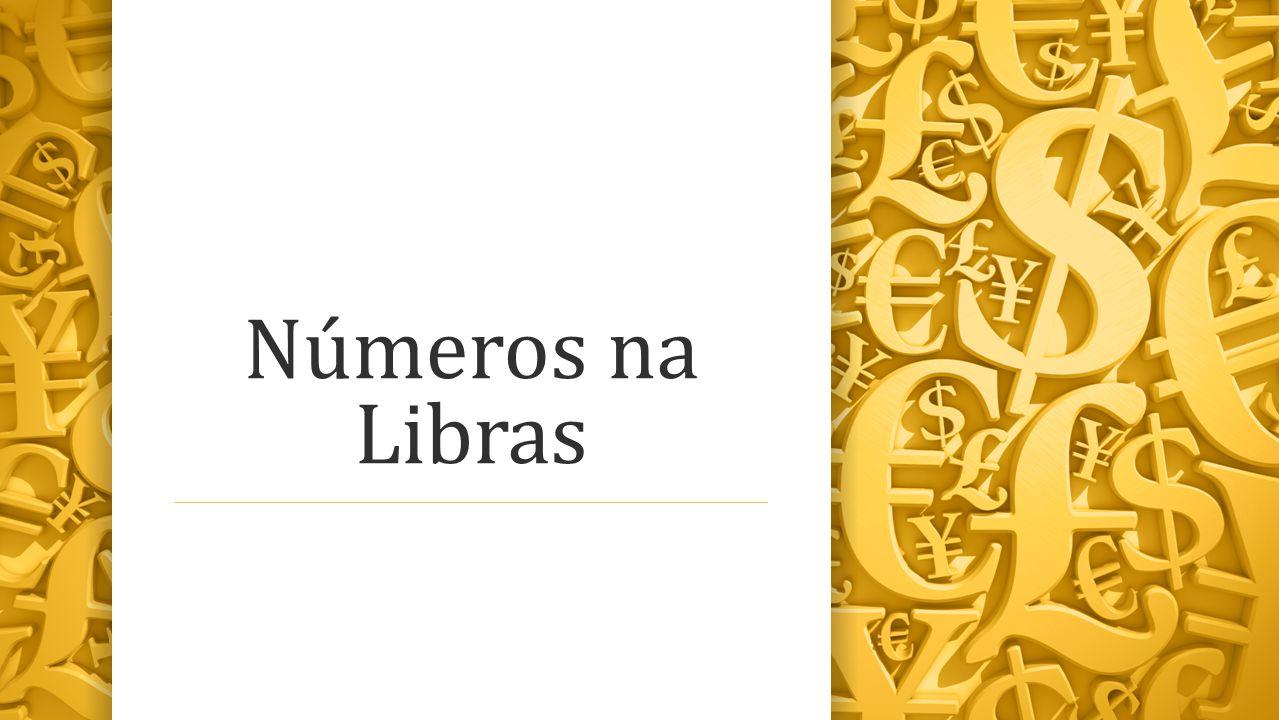 Números na Libras