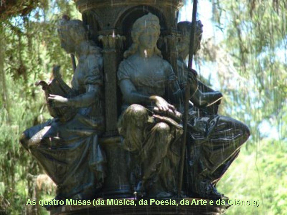 As quatro Musas (da Música, da Poesia, da Arte e da Ciência)