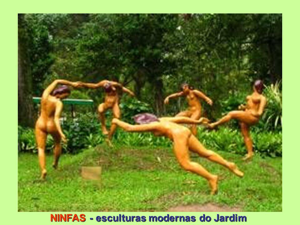 NINFAS - esculturas modernas do Jardim