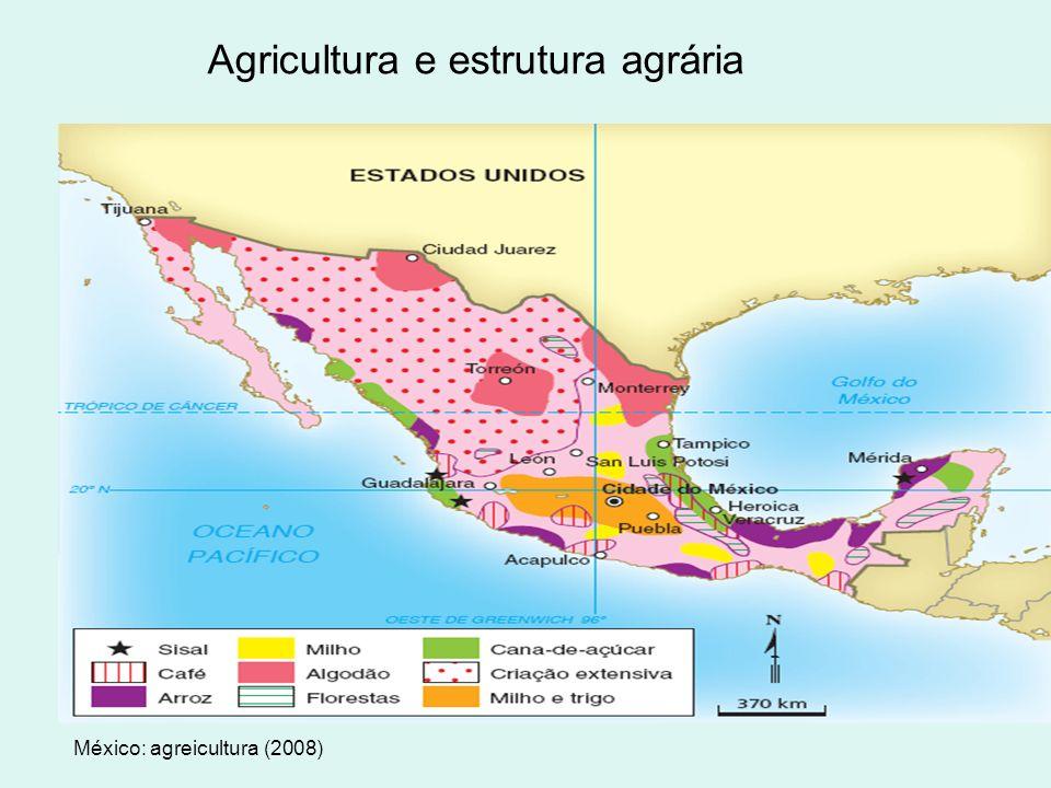 Agricultura e estrutura agrária