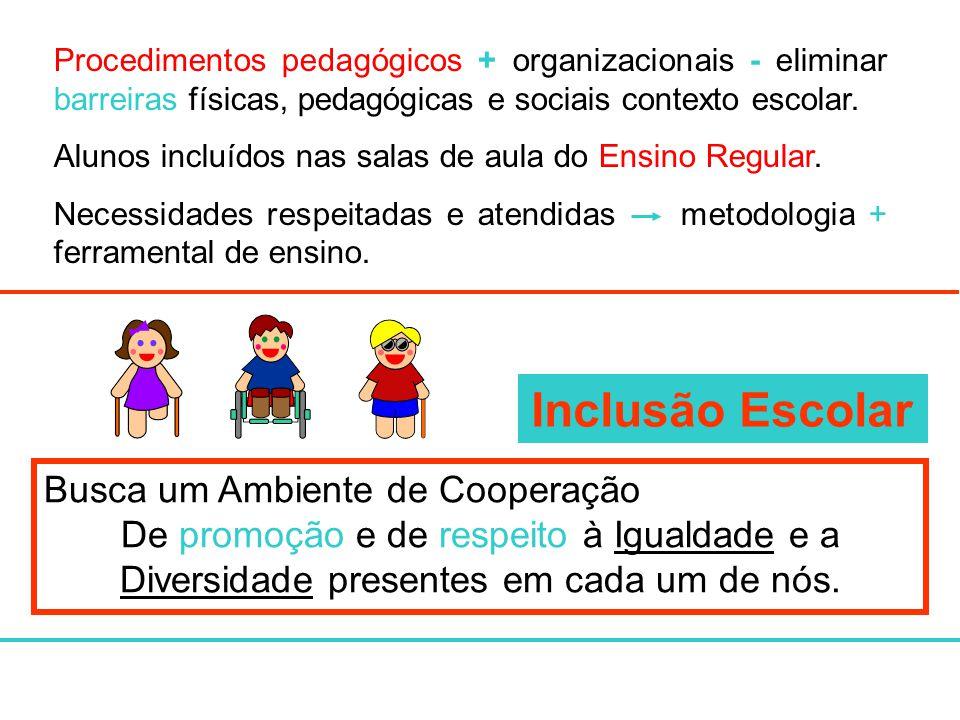 Inclusão Escolar Busca um Ambiente de Cooperação