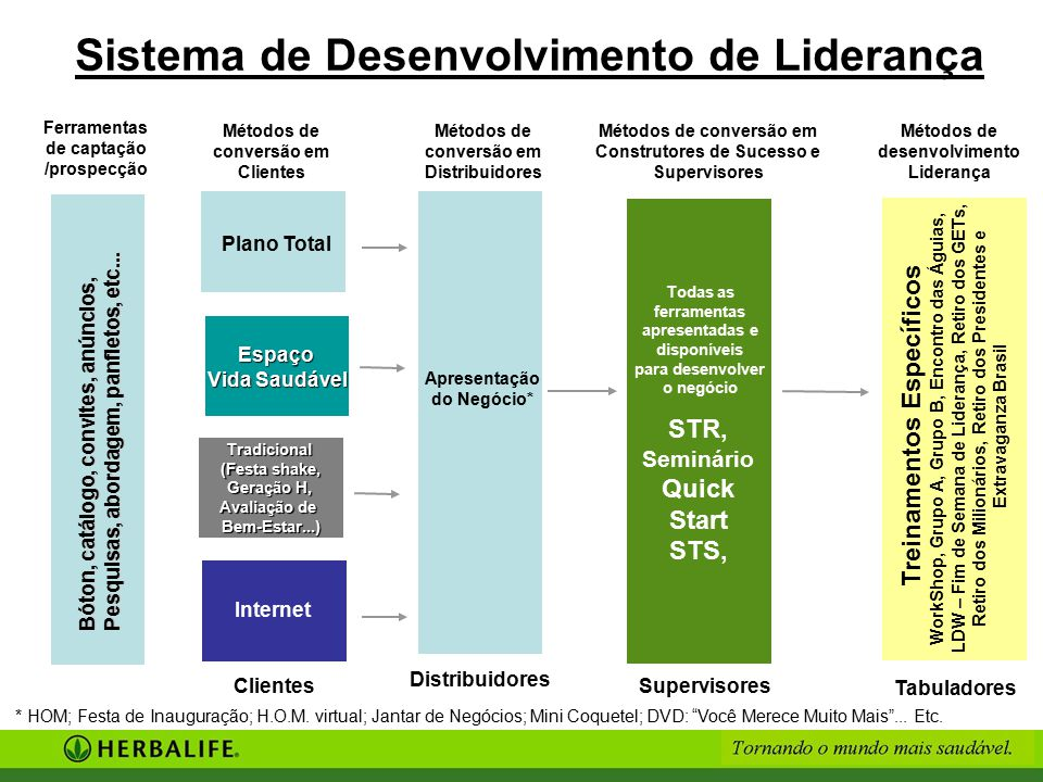Sistema de Desenvolvimento de Liderança