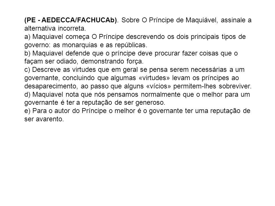 (PE - AEDECCA/FACHUCAb)