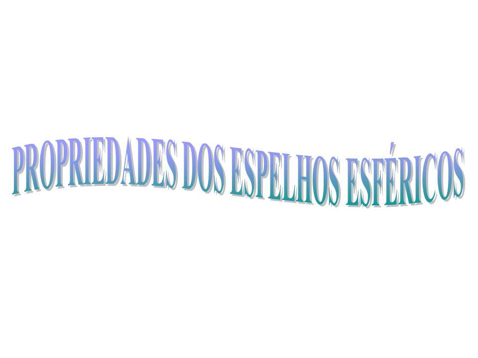 PROPRIEDADES DOS ESPELHOS ESFÉRICOS