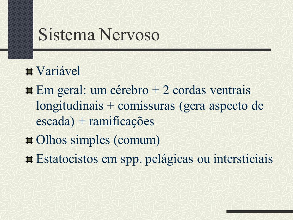 Sistema Nervoso Variável