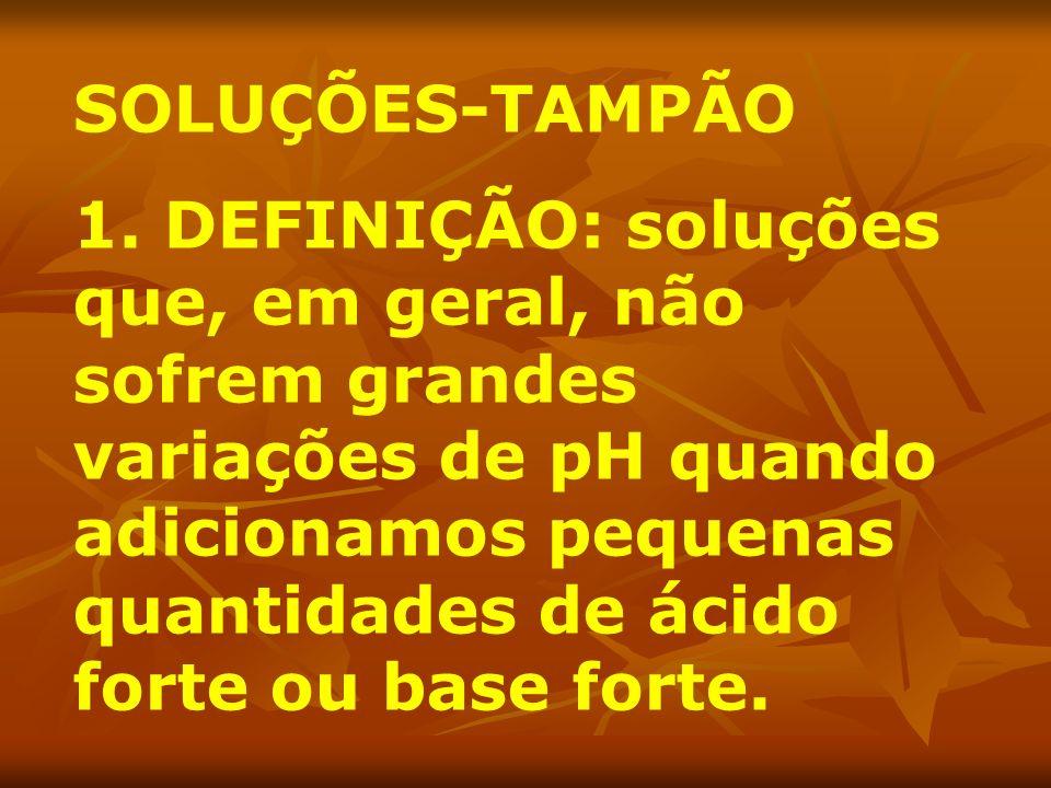SOLUÇÕES-TAMPÃO