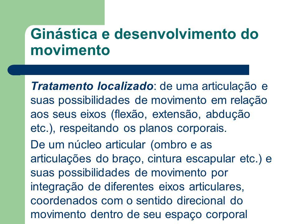 Ginástica e desenvolvimento do movimento
