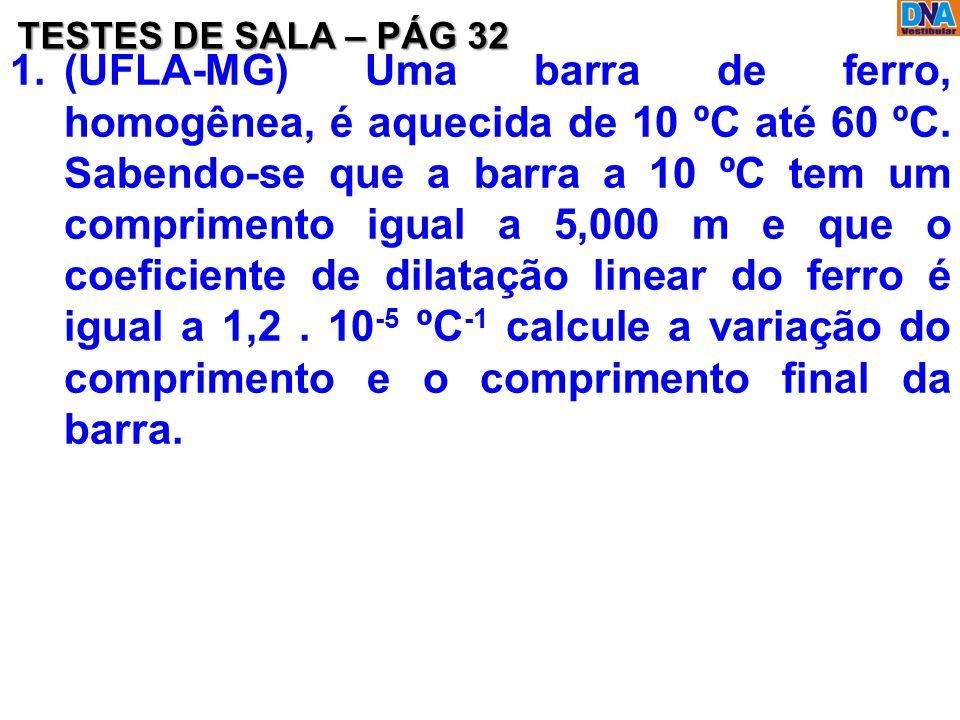 TESTES DE SALA – PÁG 32