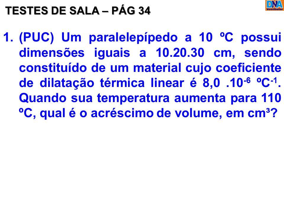 TESTES DE SALA – PÁG 34