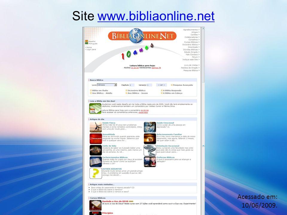 Site www.bibliaonline.net
