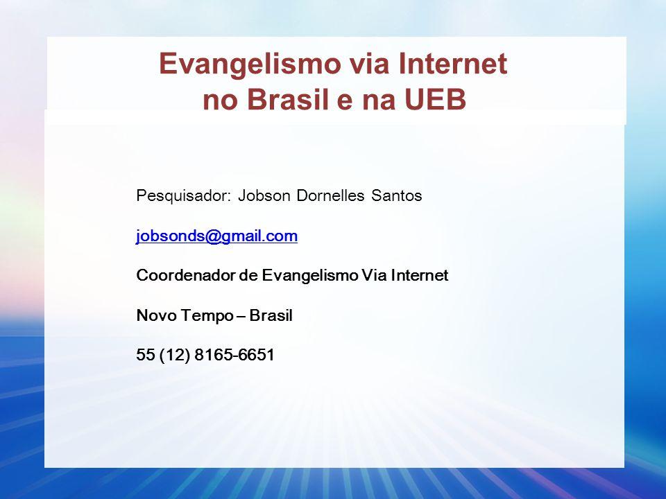 Evangelismo via Internet no Brasil e na UEB
