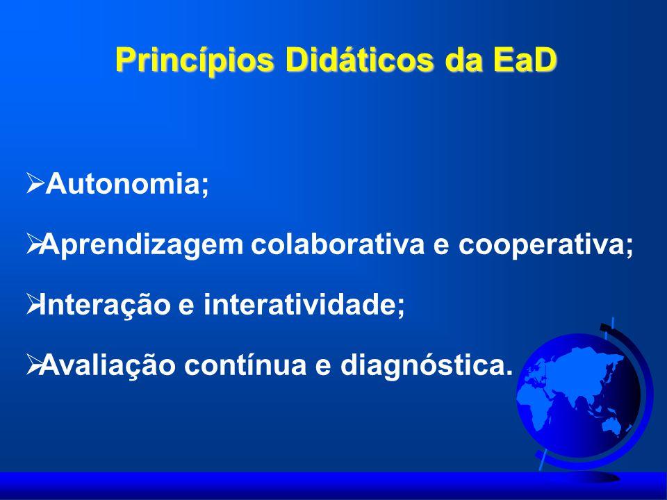 Princípios Didáticos da EaD