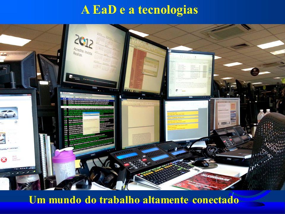 A EaD e a tecnologias Um mundo do trabalho altamente conectado