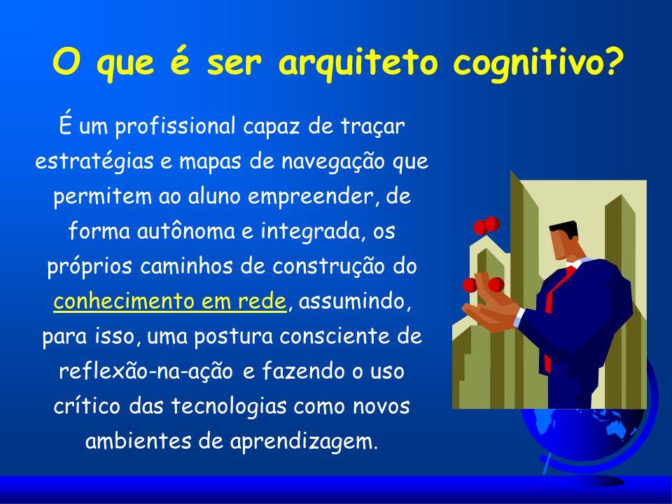 O que é ser arquiteto cognitivo