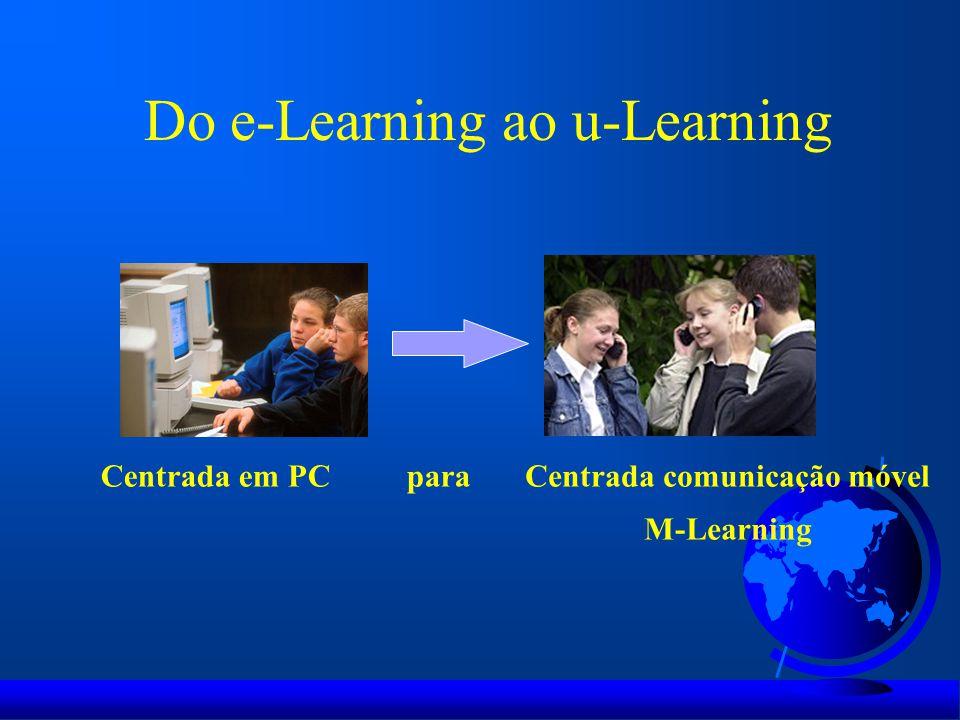 Do e-Learning ao u-Learning
