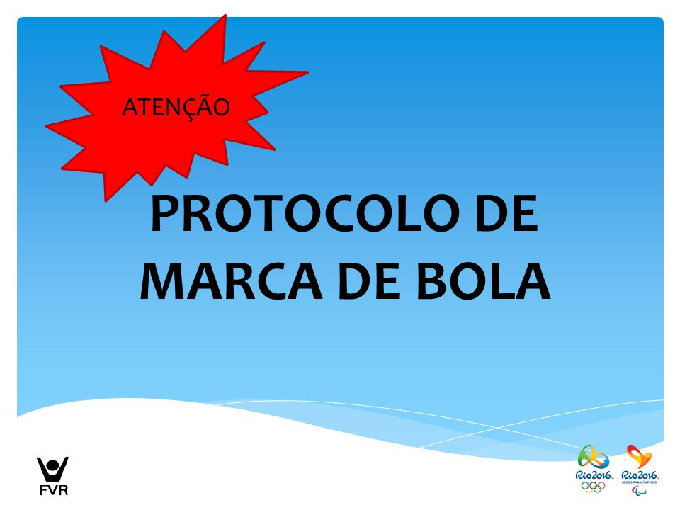 PROTOCOLO DE MARCA DE BOLA