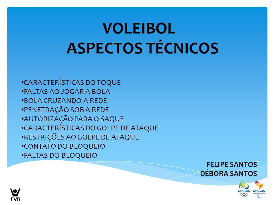VOLEIBOL ASPECTOS TÉCNICOS