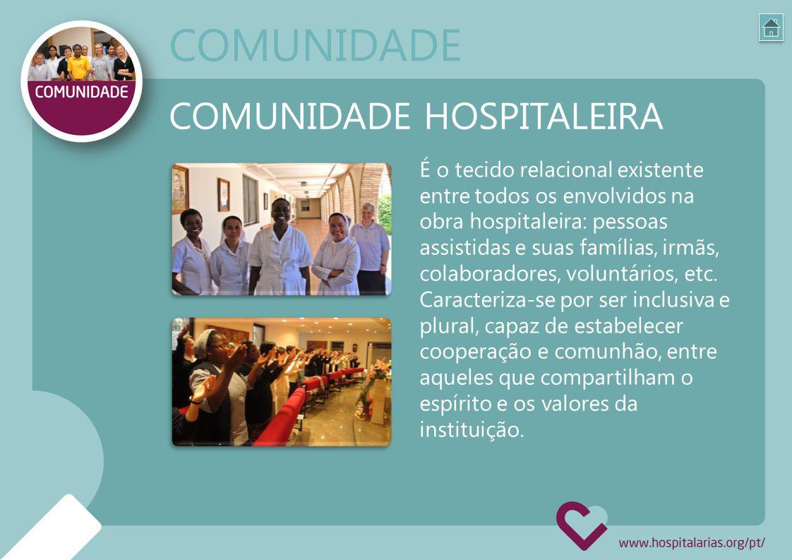 COMUNIDADE COMUNIDADE HOSPITALEIRA