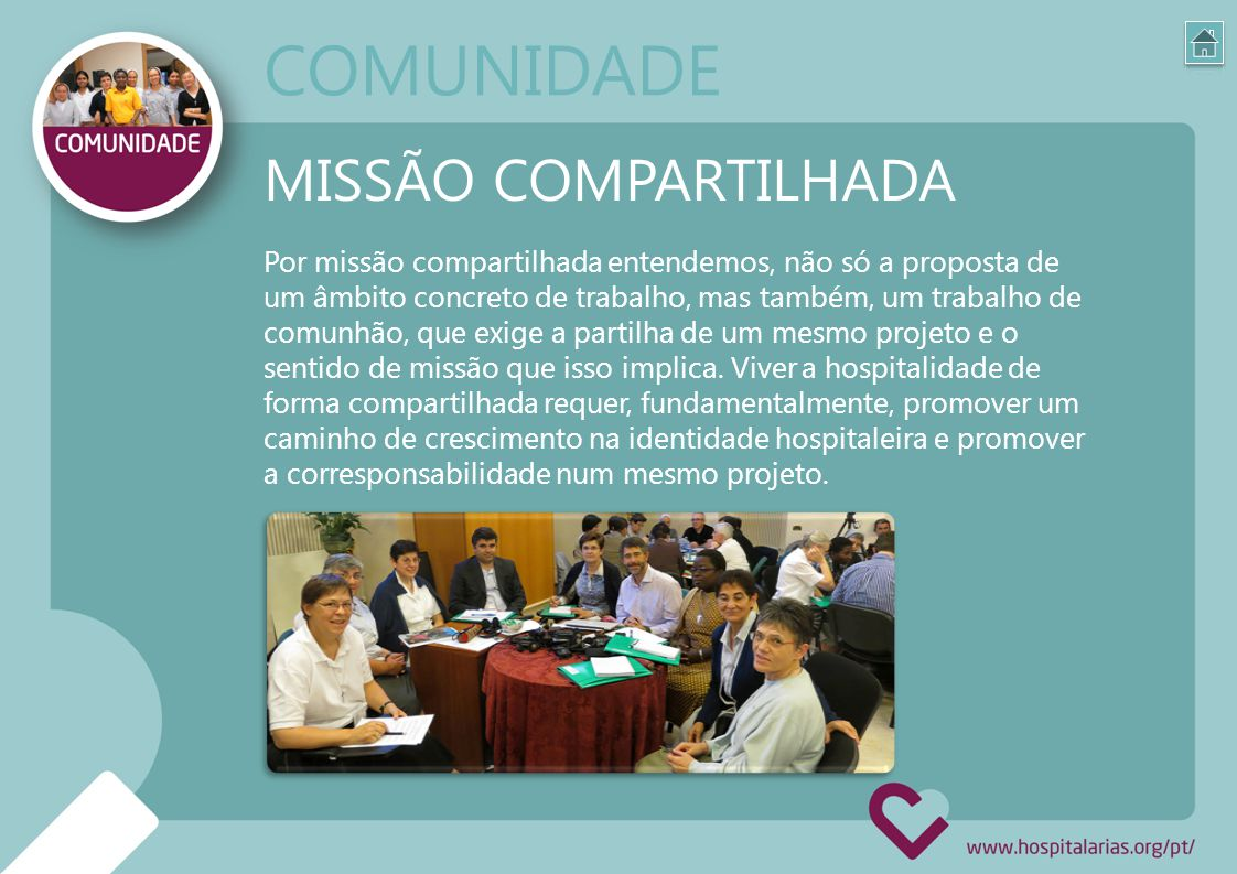COMUNIDADE MISSÃO COMPARTILHADA