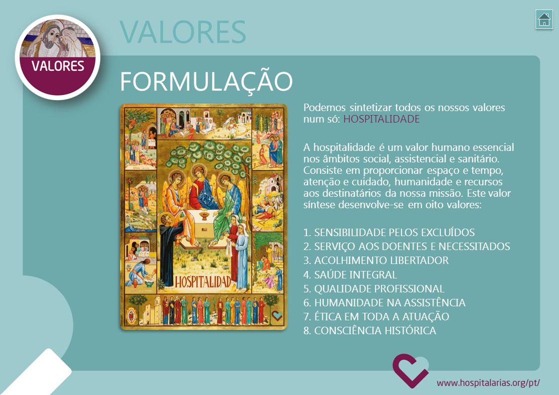 VALORES FORMULAÇÃO.