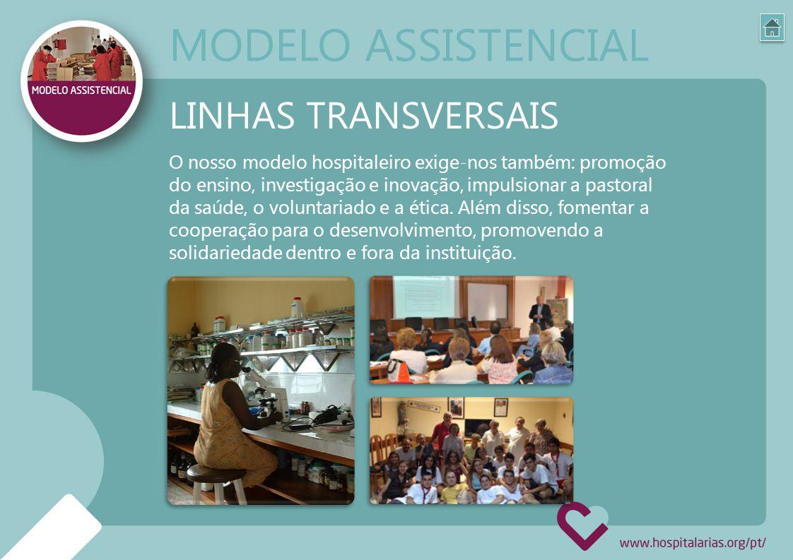 MODELO ASSISTENCIAL LINHAS TRANSVERSAIS