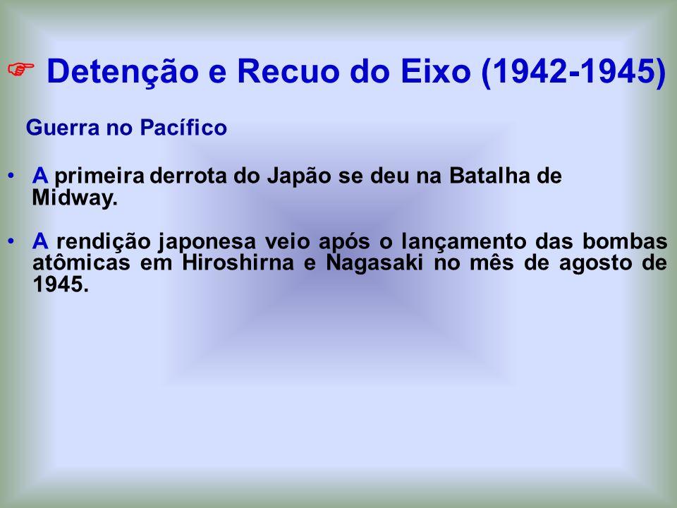  Detenção e Recuo do Eixo (1942-1945)
