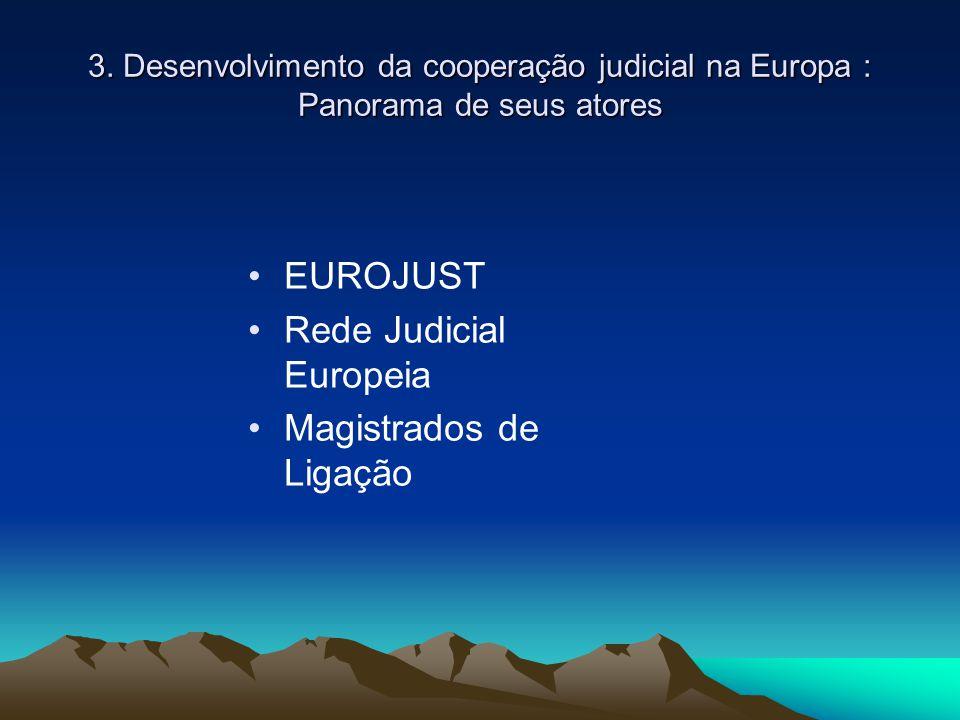 Rede Judicial Europeia Magistrados de Ligação