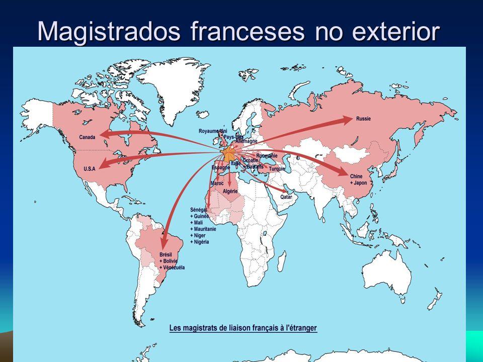 Magistrados franceses no exterior