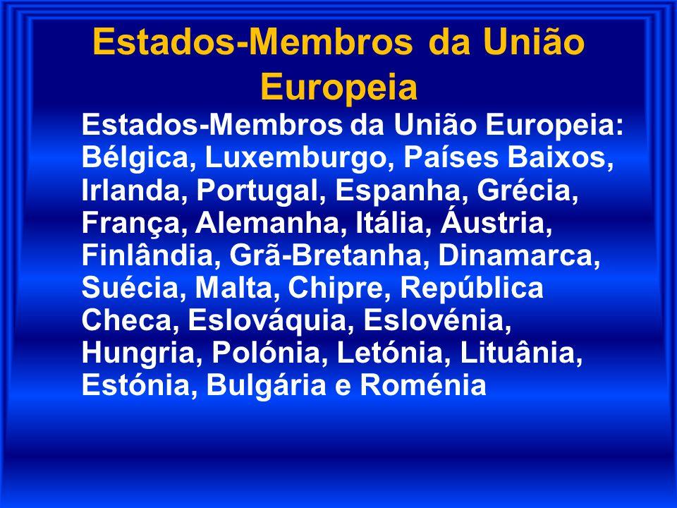 Estados-Membros da União Europeia