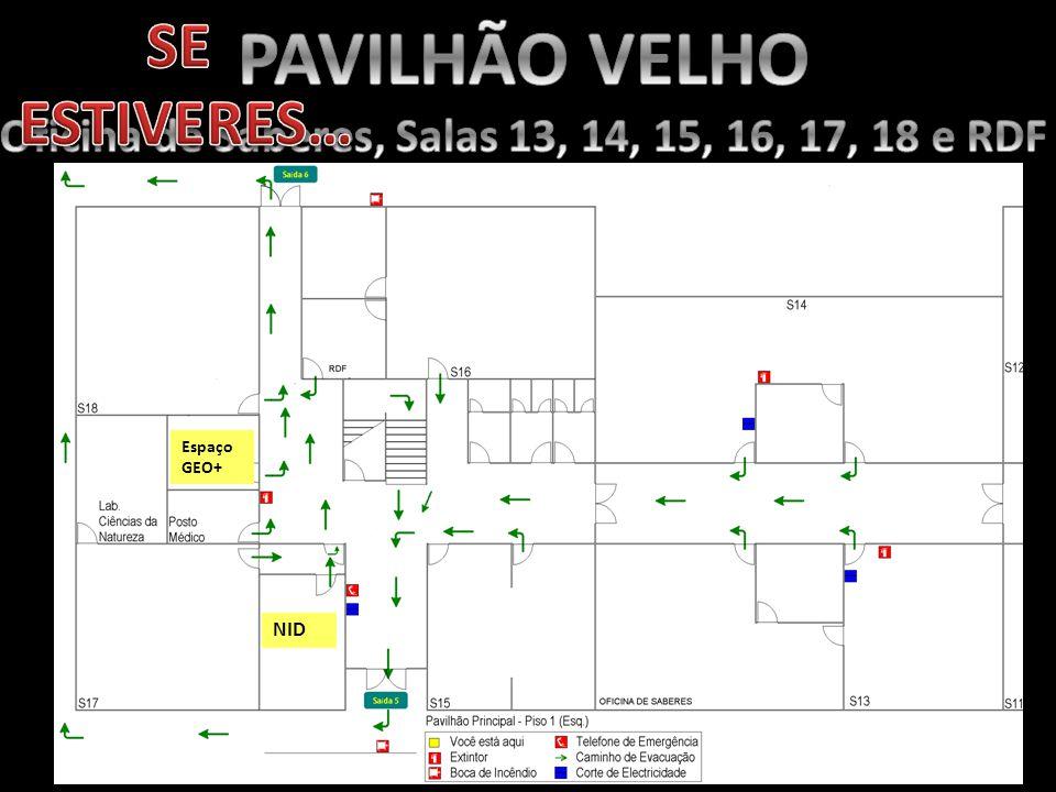 Oficina de Saberes, Salas 13, 14, 15, 16, 17, 18 e RDF