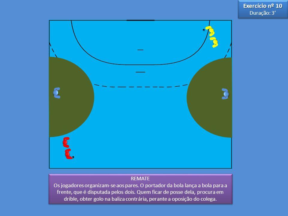 Exercício nº 10 Duração: 3' 3 5 REMATE