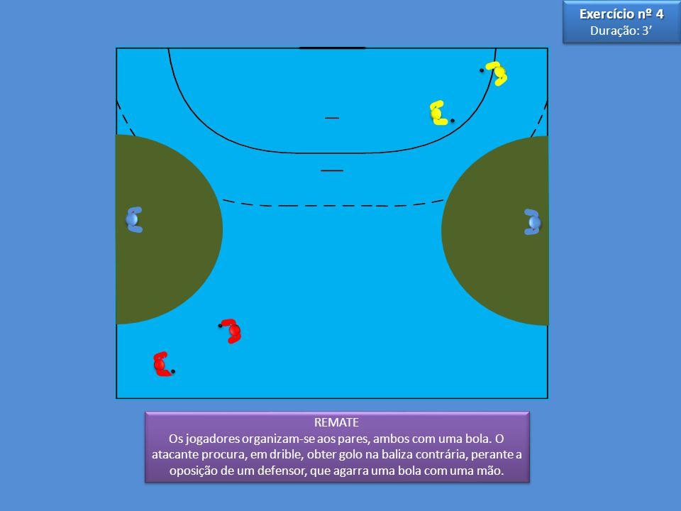 Exercício nº 4 Duração: 3' 3 5 REMATE