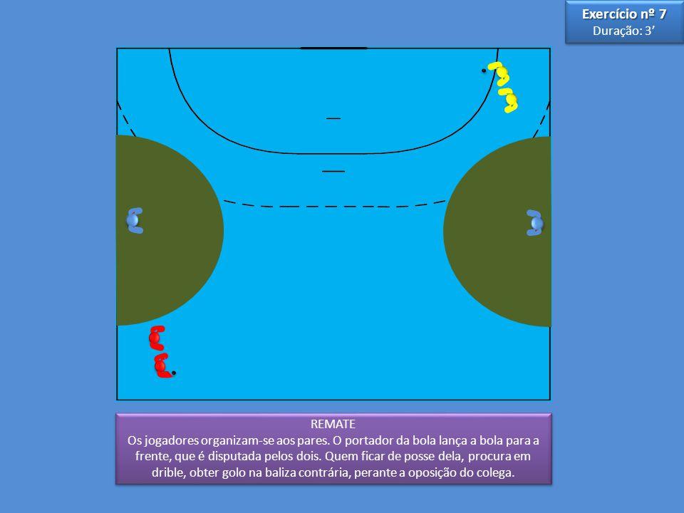 Exercício nº 7 Duração: 3' 3 5 REMATE