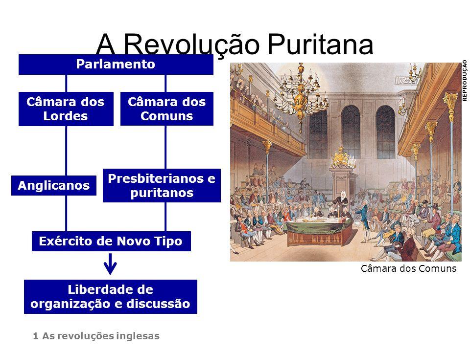 Presbiterianos e puritanos Liberdade de organização e discussão
