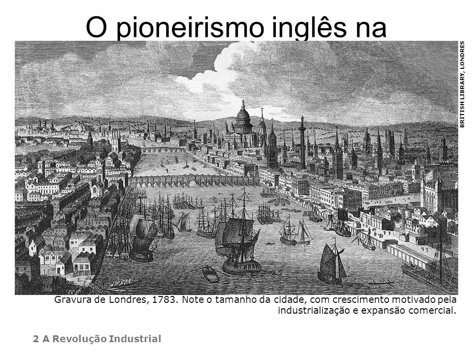 O pioneirismo inglês na industrialização