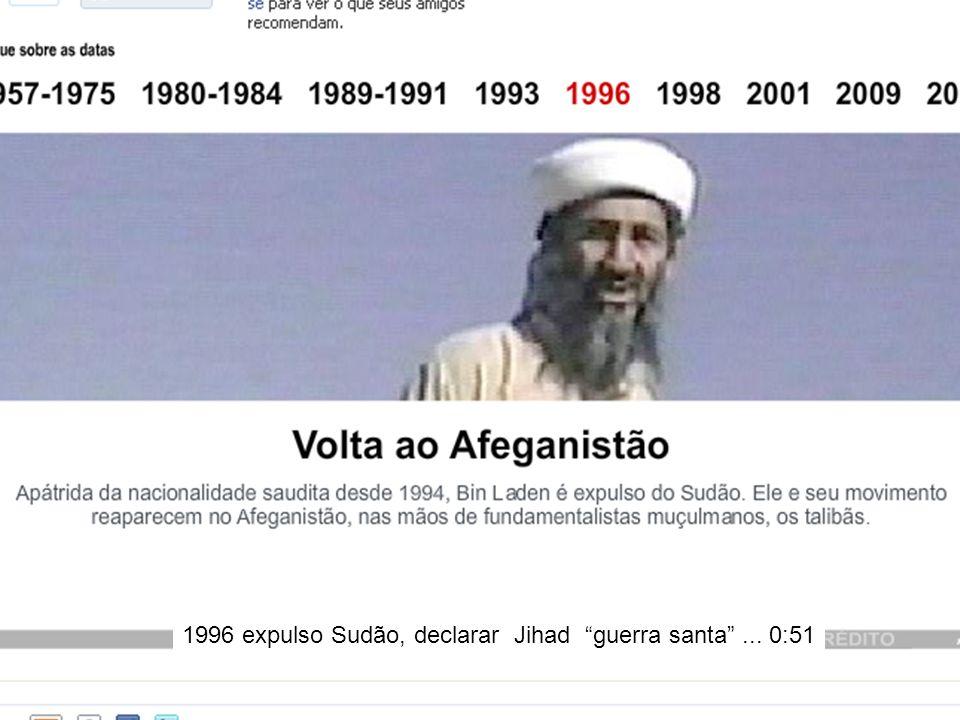 1996 expulso Sudão, declarar Jihad guerra santa ... 0:51