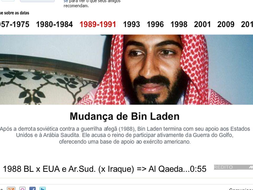 1988 BL x EUA e Ar.Sud. (x Iraque) => Al Qaeda...0:55