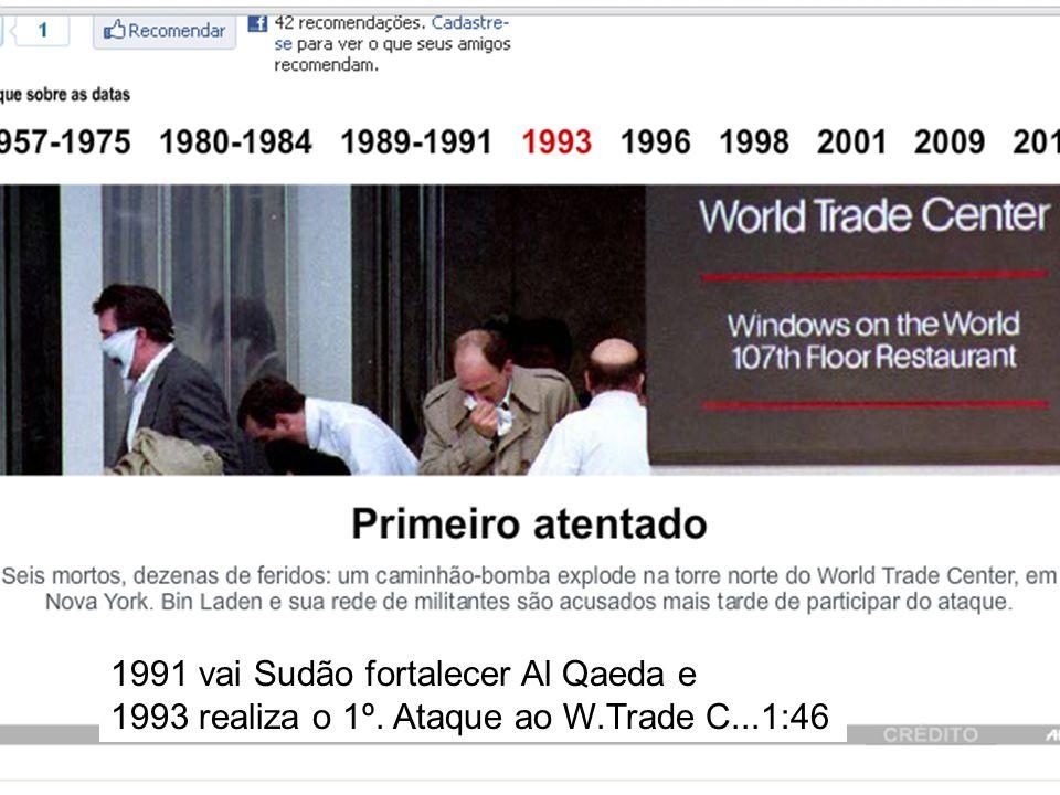1991 vai Sudão fortalecer Al Qaeda e