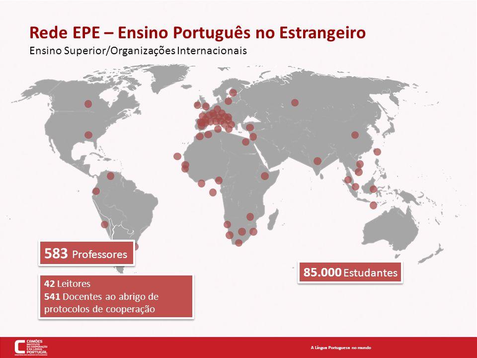 Rede EPE – Ensino Português no Estrangeiro Ensino Superior/Organizações Internacionais