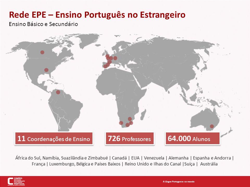 Rede EPE – Ensino Português no Estrangeiro Ensino Básico e Secundário