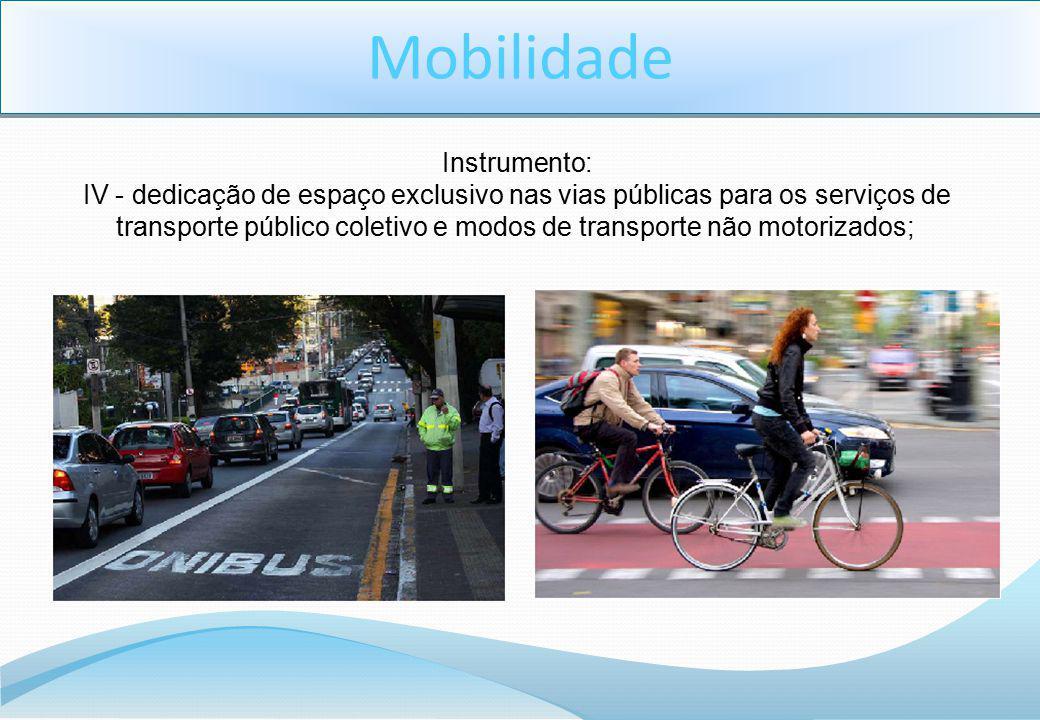 Mobilidade Instrumento: