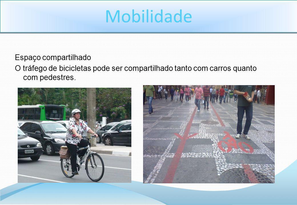 Mobilidade Espaço compartilhado